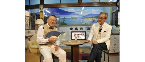 「あ・な・ろ・ぐ大会議」に出演する伊東四朗と大竹まこと(写真左から)