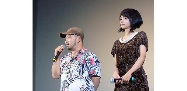 清水監督は満島を「大したもんだ」と絶賛!