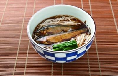 天麩羅 御蕎麦 東京庵の、鮎そば(1155円)