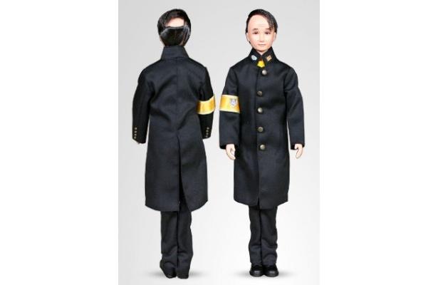 """""""田山くん""""は身長30cm。着せ替えも可能だ"""
