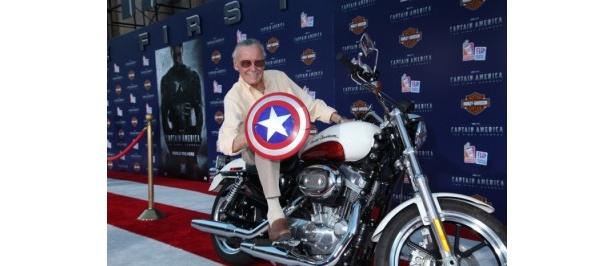 キャプテン・アメリカの原作者スタン・リー