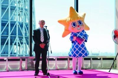 ソラマチ社長&ソラカラちゃん