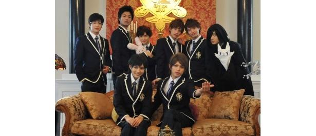 【写真】「桜蘭高校ホスト部」に出演する豪華キャスト