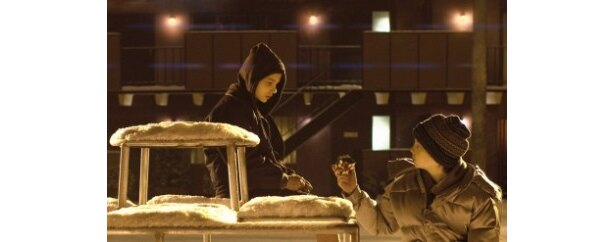 ルービックキューブのシーンはふたりの絆を深めるきっかけとなったと語る
