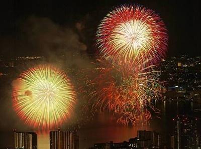 昨年のびわ湖大花火大会