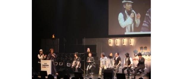 「バサラ祭2011~夏の陣~」に出演した声優たち