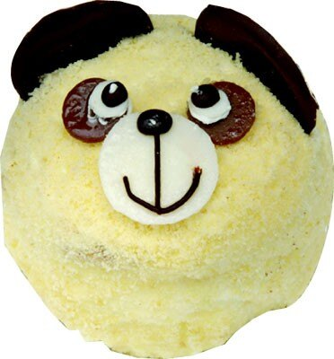 「夢菓子工房エクランナクレ」(神奈川県・藤が丘)ではパンダモチーフの「パンダくん」(420円)が登場している