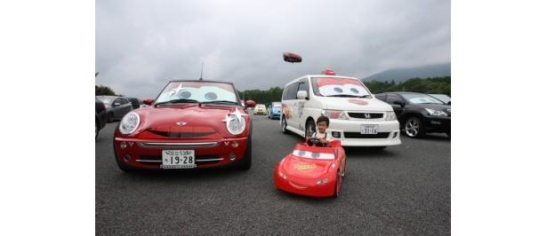 「『カーズ2』公開記念スペシャルレース」が富士スピードウェイで開催された