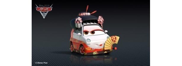 【写真】日本伝統の歌舞伎をモチーフにしたキャラクターなどが登場する