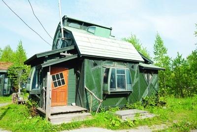 ゴンドラを利用した「正彦とすみえの家」