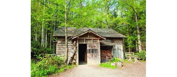 黒板家が最初に住んだ家
