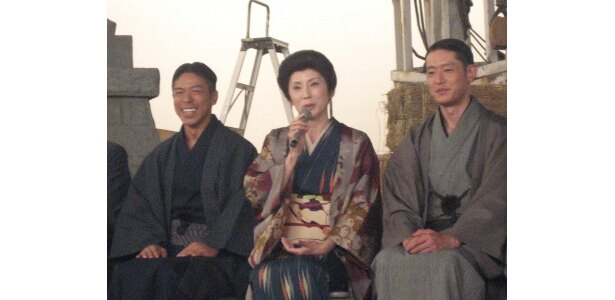 松本と筒井に結婚のアドバイスをしていると明かす秋野