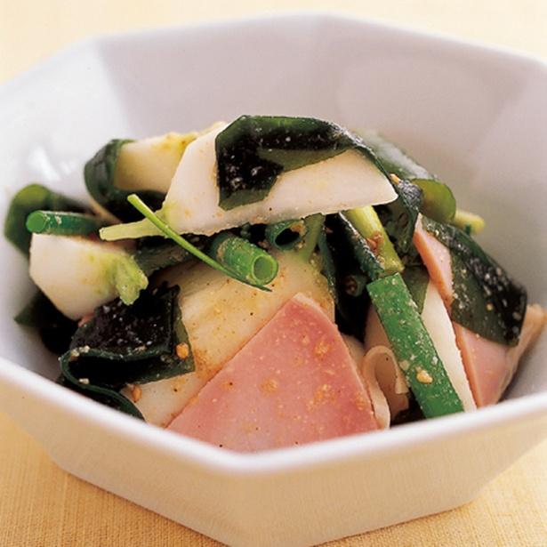 「かぶの韓国風サラダ」
