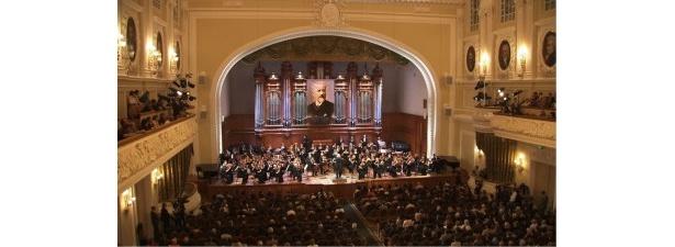 「第14回 チャイコフスキー国際コンクール」の会場となったモスクワ音楽院大ホール