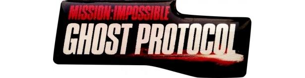 『ミッション:インポッシブル ゴースト・プロトコル』劇場鑑賞券第一弾特典の特製ピンバッチ