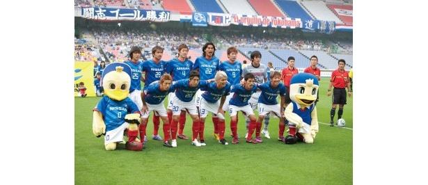 現在リーグ首位に立つ、横浜F・マリノス