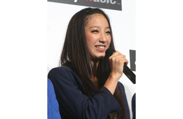 新パフォーマーの坂東希(13)