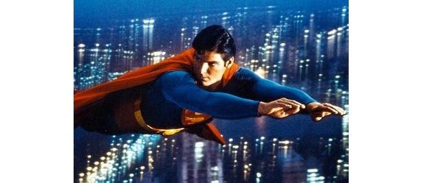 3位はスーパーマンの飛行能力