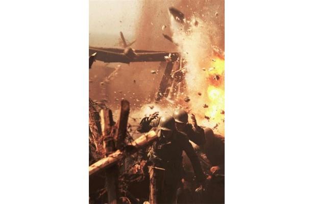 【写真】常に危険と隣り合わせの現場に、オダギリは「毎日、死にそうな思いをしていた」と明かした