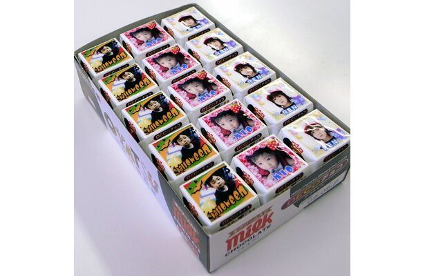 45個入りで2362円(税込)。オリジナル画像3種類までプリントできるのがうれしい