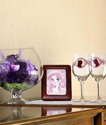 「ガラスの仮面」の世界観が堪能できる東京プリンスホテルの客室セット