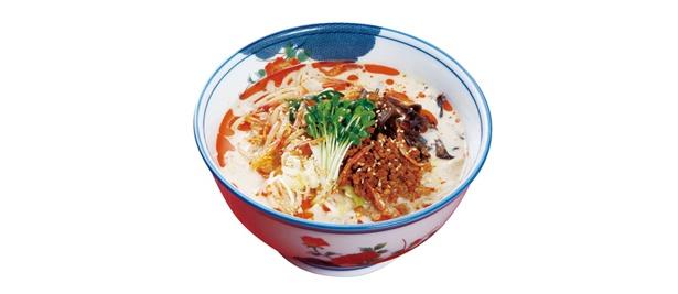 「山勝軒」の新作、四川坦々麺(750円)