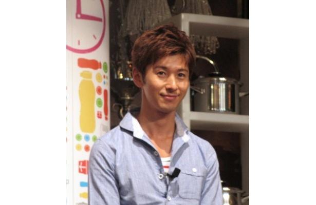 イベントには料理研究家の寺田真二郎も登場。オリジナルレシピを披露した