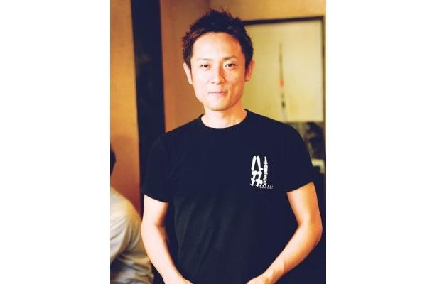 真麺流 八双 家元・豊田宗隆さん。名物である味噌の新しい食べ方! 今回の開発に当たり、強く考えたのは「名古屋っぽさ」です。