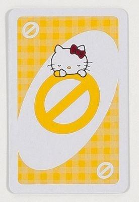 スキップカードにはおネムなキティちゃん