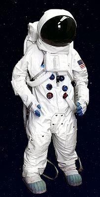 『宇宙子どもワークショップキャラバン in 仙台たなばた』のキャンペーンで当たる宇宙服(レプリカ)