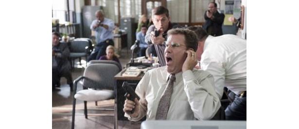 ウィル・フェレルが演じるのはデスクワーク大好きなインドア刑事アレン