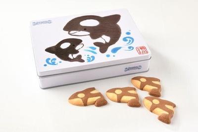 缶だけでなく中身のクッキーもキュートな「おるかくっきー」(税込1200円)