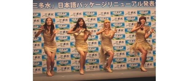 """【写真】""""Madonnaダンス""""はメンバーの息もピッタリ!"""