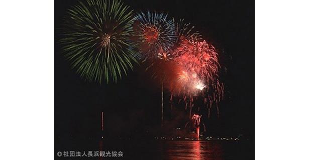 今年が最後の開催となる長浜・北びわ湖花火大会
