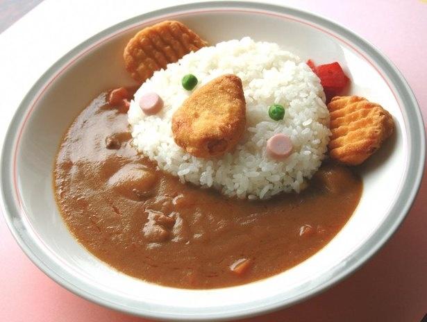 カフェ ノースガーデンの「コアラカレー」(税込800円、イートイン税込815円)