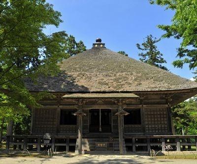 平泉の世界文化遺産への登録が、花火大会の開催を後押しする大きな原動力になった(写真は毛越寺)