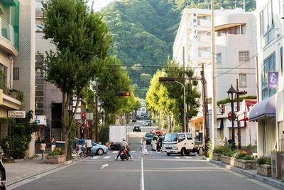 北野坂を登って異人館街へ