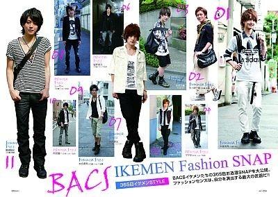 「BACS IKEMEN Fashion SNAP」
