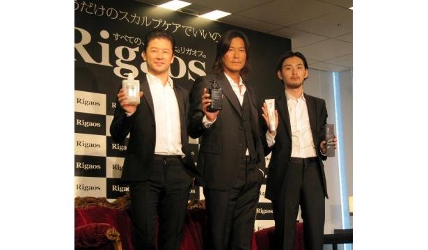 イベントに登場した浅野忠信、豊川悦司、松田龍平(写真左から)