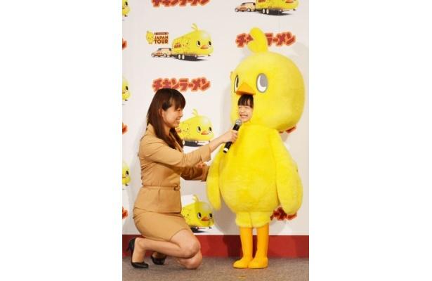 【写真】「好きなトッピングは玉子です」と嬉しそうに語る芦田愛菜
