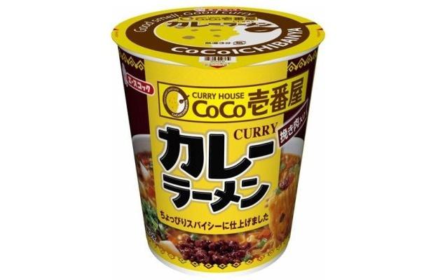 CoCo壱番屋とエースコックがコラボしたカップめん「CoCo壱番屋 カレーラーメン 挽き肉入り」(170円)