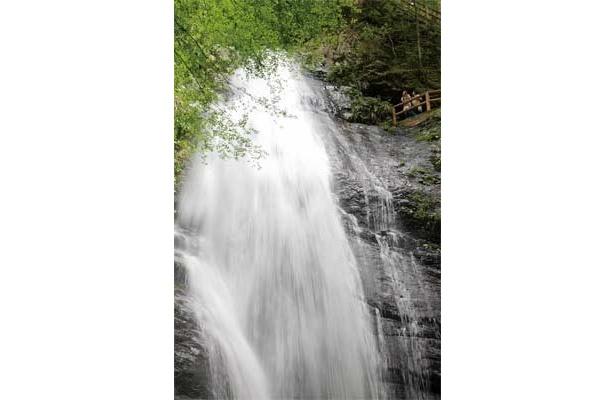 松尾芭蕉もその美しさに惚れた、奈良県・川上村の「蜻蛉の滝」