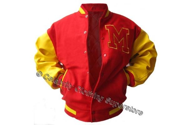 """""""M""""のマークが特徴的なジャケット。こちらも「Thriller」で着用している"""