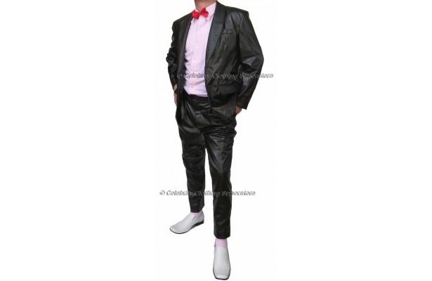 光沢があるジャケット、ズボンのビリージーン衣装セット