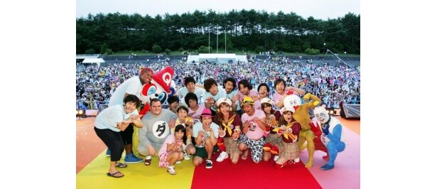 「ピラメQノ ピラメキサマーライブ2011」に参加したメンバー
