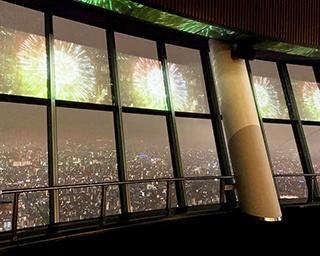 「未来につなぐバーチャル花火」がスカイツリータウンで開催!いつもとは違う特別な花火を満喫