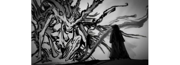 ホラーの始祖メシアとの出会いが、暗黒騎士誕生のきっかけに