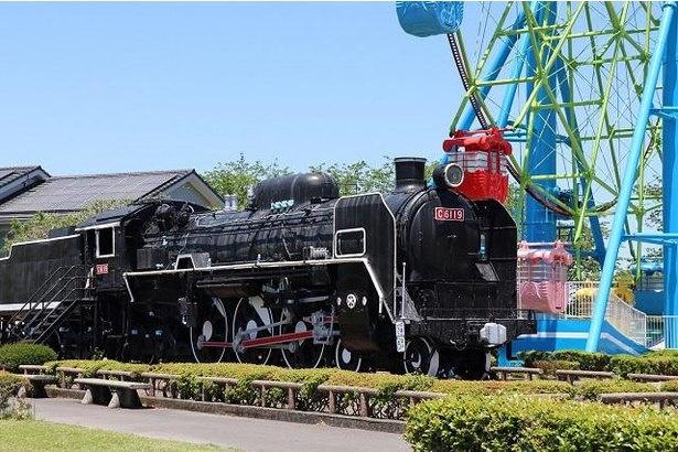 青森仙台間で活躍したのち、宮崎県へ移された蒸気機関車C-61型