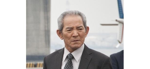映画版のスペシャルゲストとして出演している夏八木勲