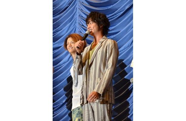 【写真】公開初日を迎えられた喜びを語る「仮面ライダーオーズ」の主人公・渡部秀